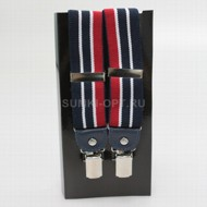 Подт Poshete navy red п/э кожа 502 муж_N