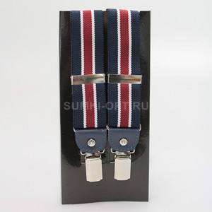 Подт Poshete navy red п/э кожа 513 муж_N